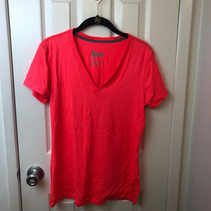 NWT Nike short sleeve dri fit tee. Neon coral. M